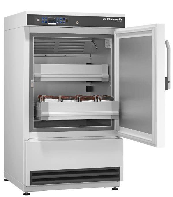 Blutkonservenkühlschrank BL 176 PRO-ACTIVE von Kirsch mit offener Standardtüre für die Lagerung von Blut