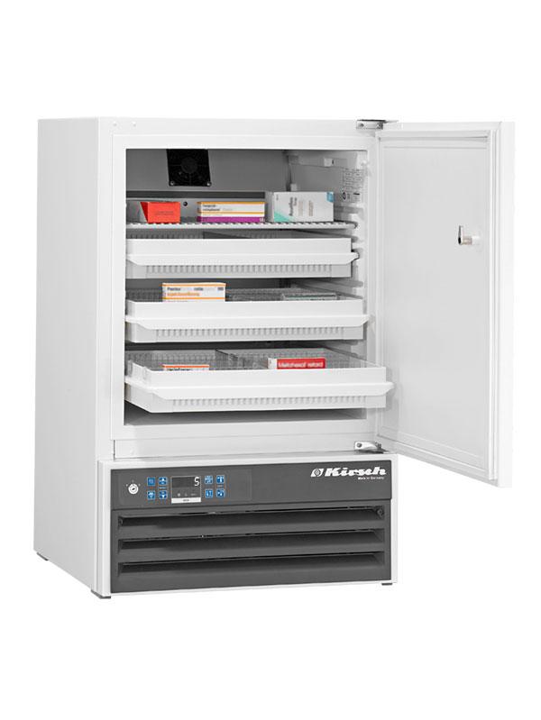 Medikamentenkühlschrank MED-100 von Kirsch mit offener Standardtüre