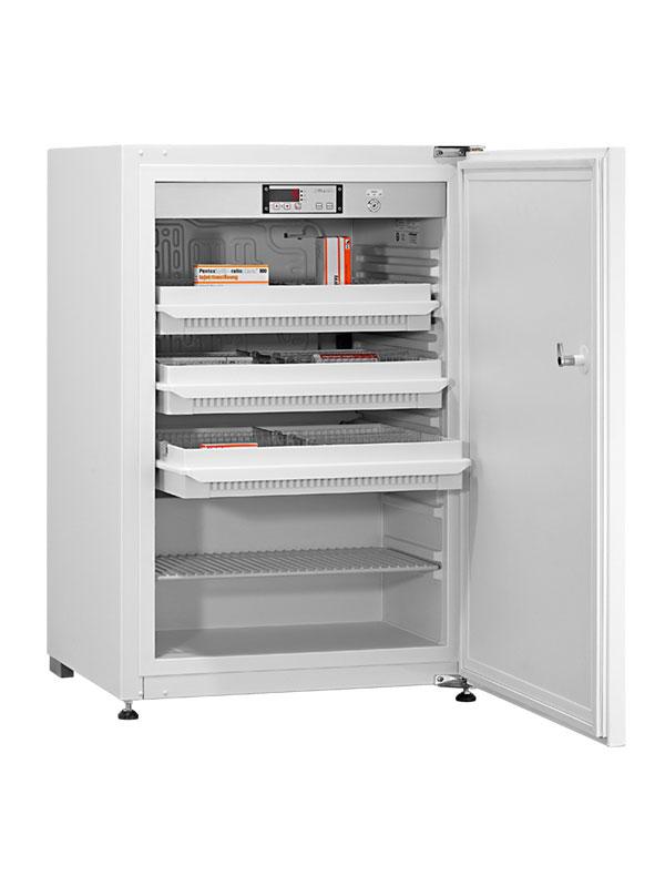 Medikamentenkühlschrank MED-125 von Kirsch mit offener Standardtüre