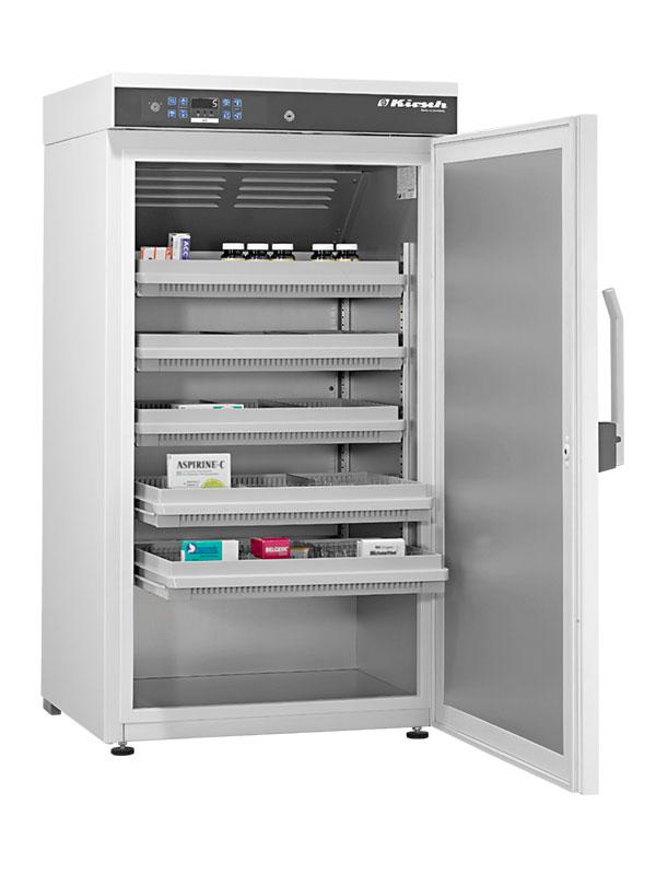 Medikamentenkühlschrank MED-288 von Kirsch mit offener Standardtüre
