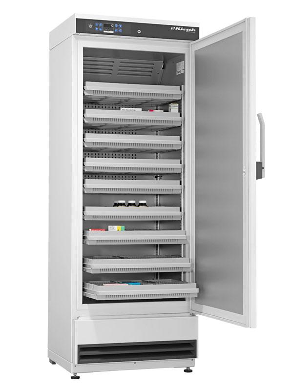 Medikamentenkühlschrank MED-340 von Kirsch mit offener Standardtüre