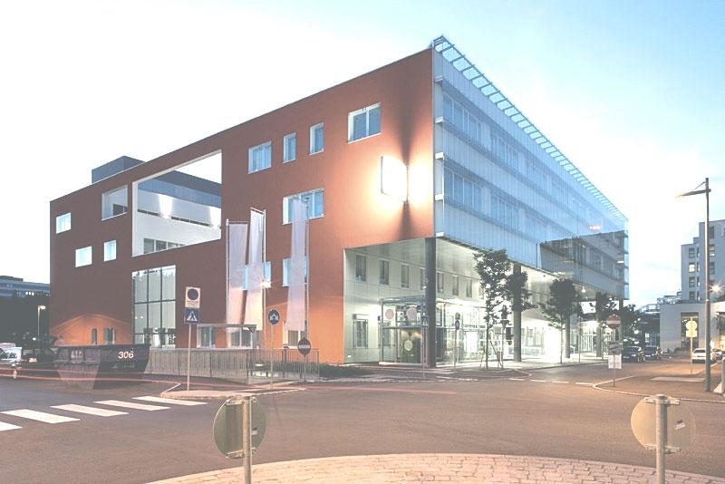 Gebäude der Blutzentrale Linz