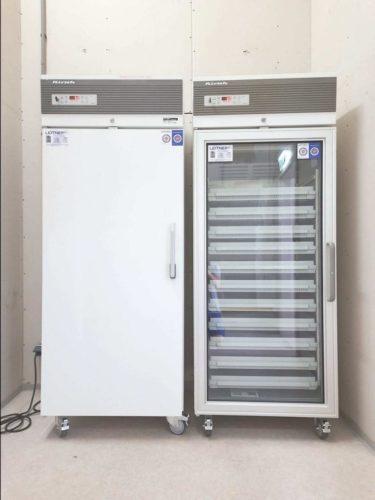 Verleih Kirsch Medikamentenkühlschränke, Referenzprojekt Stadt Wien (MA15) Lagerung Grippe Impfstoff