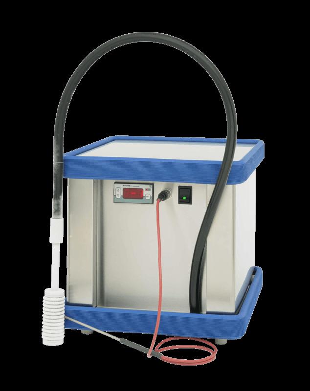 Labor / Industrie Tauchkühler TK 1000 von FRYKA | Ansicht von der Seite