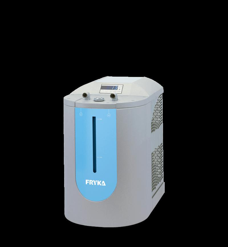 Labor/Industrie Umlaufkühler DLK 402 von FRYKA | Ansicht von der Seite