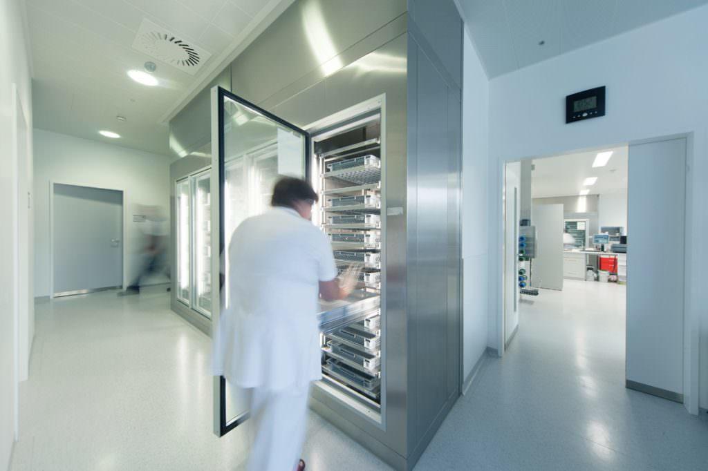 Kältetechnik für die Medikamentenkühlung sowie Blutkonservenlagerung für Pharmabetriebe und Gesundheitseinrichtungen