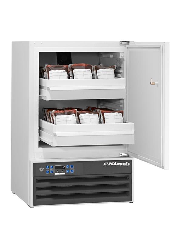 Blutkonservenkühlschrank BL-100 von Kirsch mit offener Standardtüre
