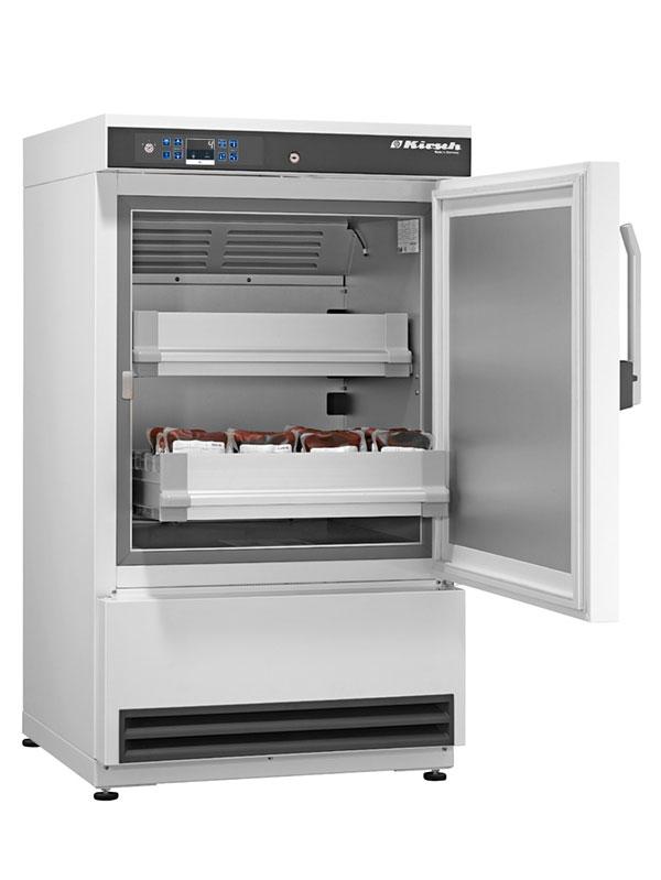 Blutkonservenkühlschrank BL-176 von Kirsch mit offener Standardtüre