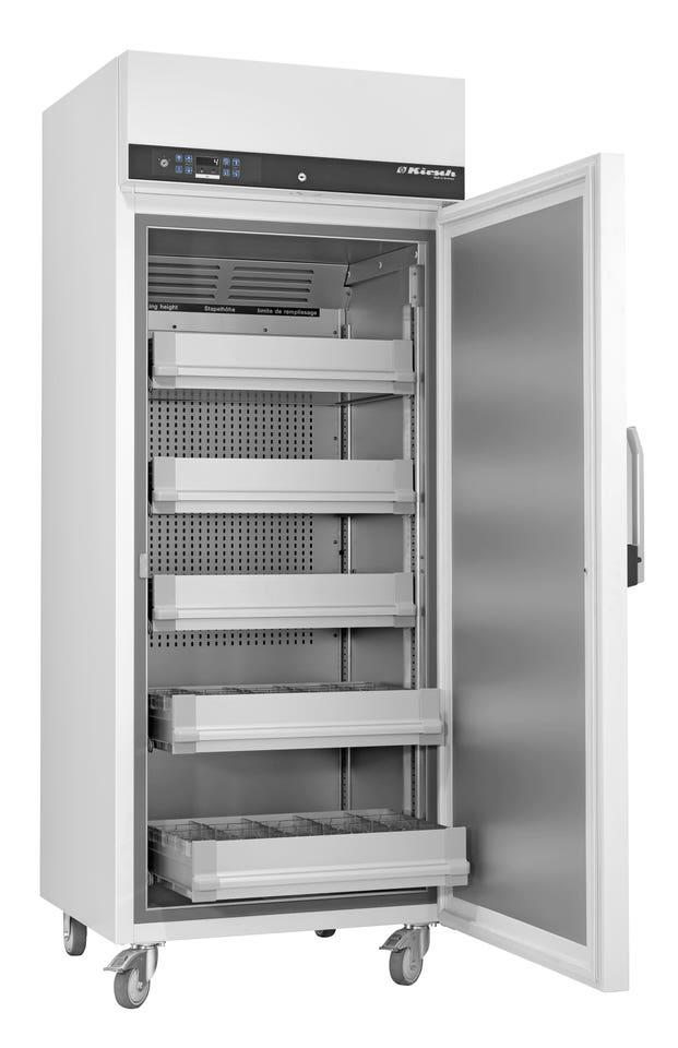 Blutkonservenkühlschrank BL-520 von Kirsch mit offener Standardtüre