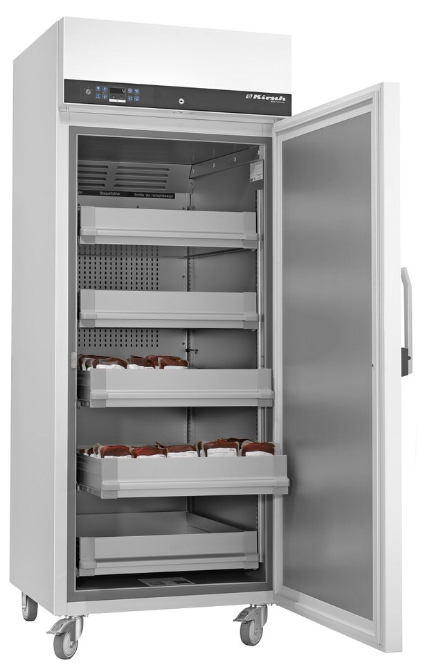 Blutkonservenkühlschrank BL-720 von Kirsch mit offener Standardtüre