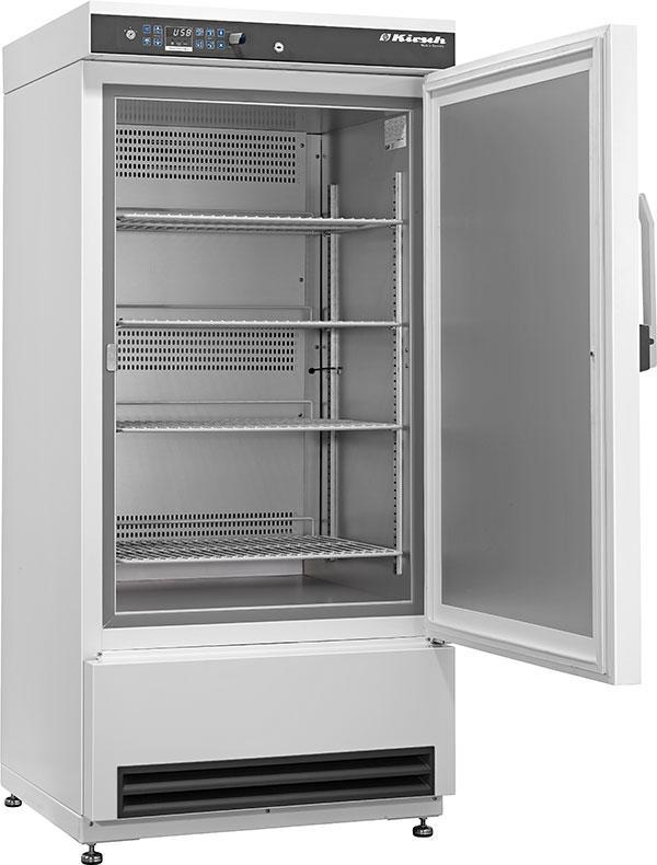 Laborgefrierschrank FROSTER LABO 330 Pro-Active von Kirsch mit offener Standardtüre