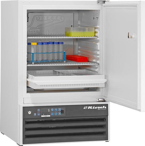 Explosionsgeschützter Laborkühlschrank LABEX 105 Pro-Active von Kirsch mit offener Standardtüre