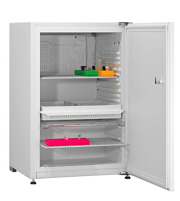 Explosionsgeschützter Laborkühlschrank LABEX 125 Essential von Kirsch mit offener Standardtüre