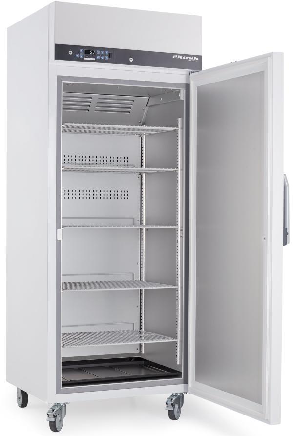 Explosionsgeschützter Laborkühlschrank LABEX 520 Pro-Active von Kirsch mit offener Standardtüre