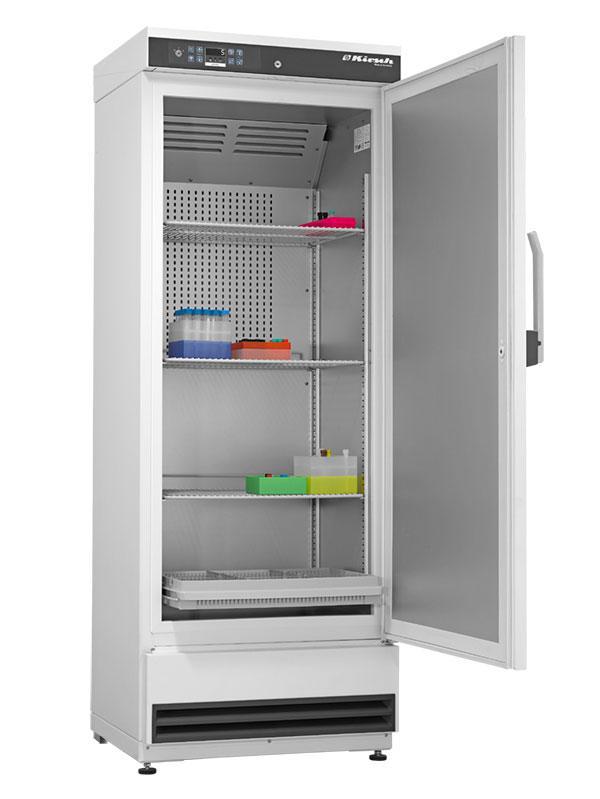 Laborkühlschrank LABO 340 Pro-Active von Kirsch mit offener Standardtüre