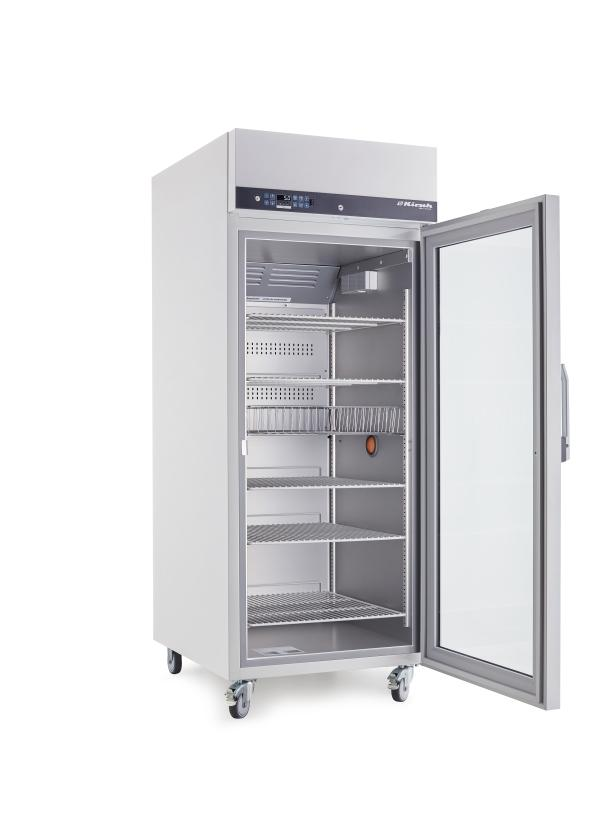 Laborkühlschrank LABO 720 Chromat-Pro-Active von Kirsch mit offener Standardtüre