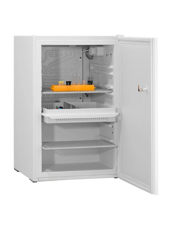 Laborkühlschrank LABO 85 Essential von Kirsch mit offener Standardtüre