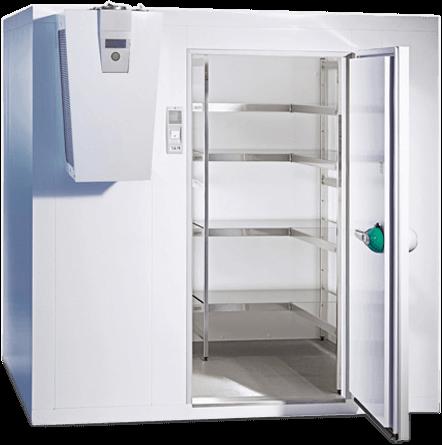 Kühlzelle für die Gewerbekühlung von Leitner Kältetechnik