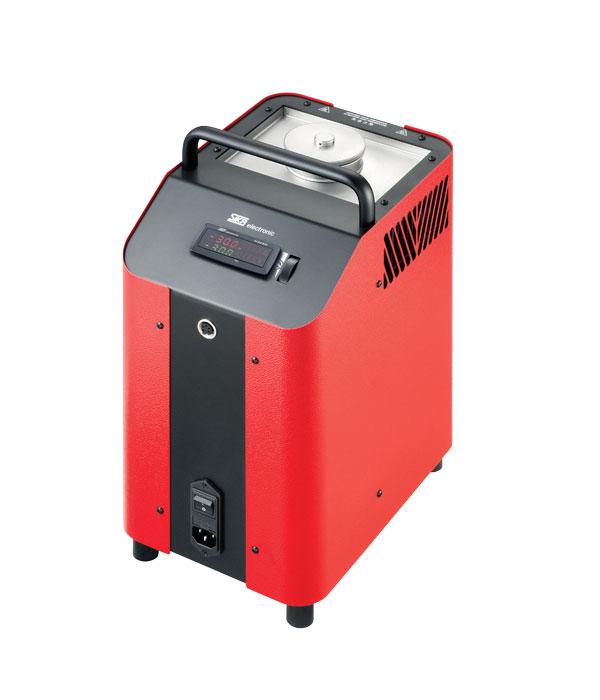 Labor/Industrie Temperaturkalibrator TP M165S von SIKA | Ansicht von der Seite