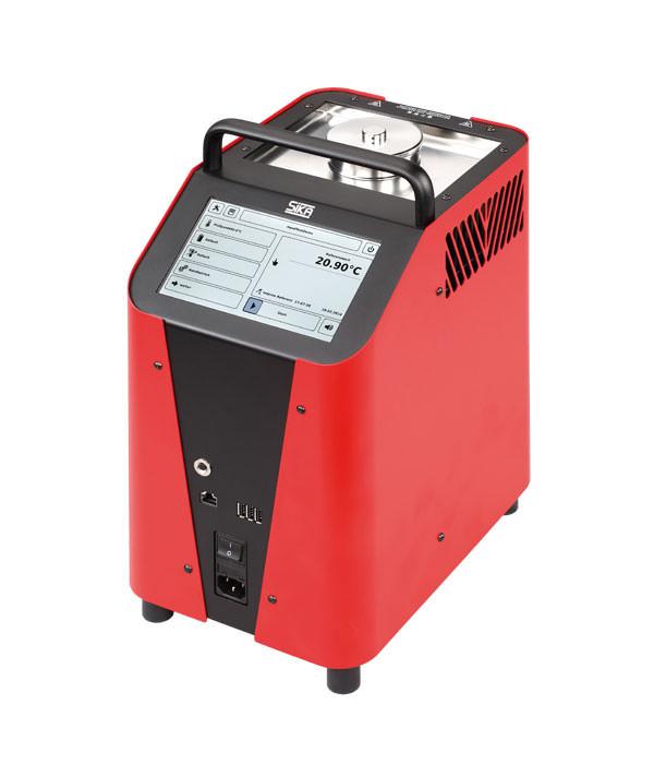 Labor/Industrie Temperaturkalibrator TP 3M165E.2 von SIKA | Ansicht von der Seite