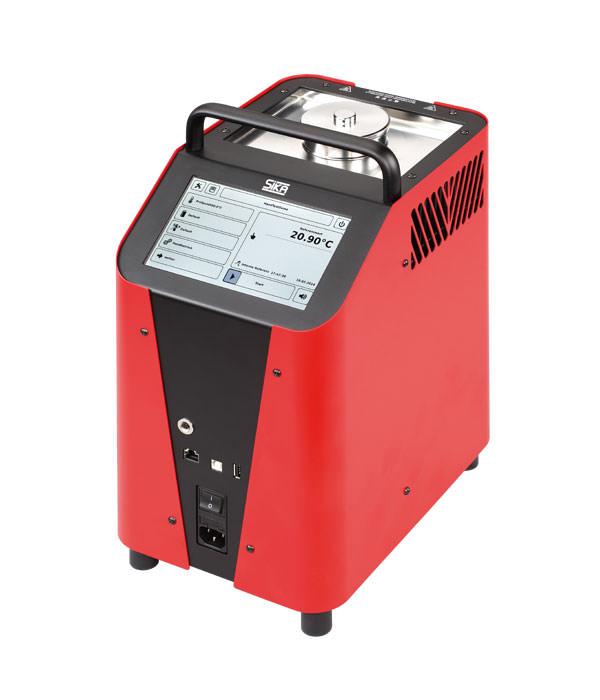 Labor/Industrie Temperaturkalibrator TP 3M255E von SIKA | Ansicht von der Seite