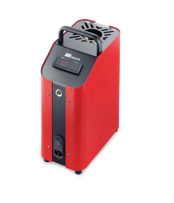 Labor/Industrie Temperaturkalibrator TP 17650 von SIKA | Ansicht von der Seite
