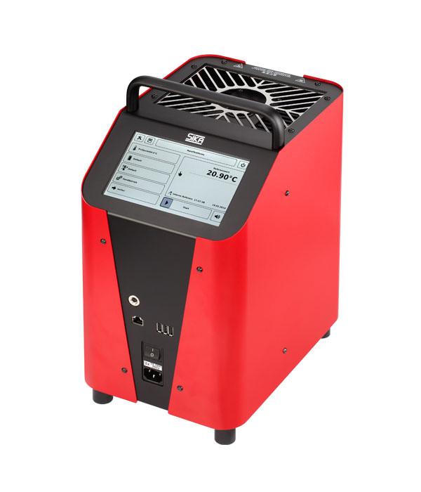 Labor/Industrie Temperaturkalibrator TP 37200E.2 von SIKA | Ansicht von der Seite